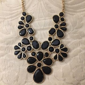 Gorgeous Black&Gold Charlotte Russe Necklace